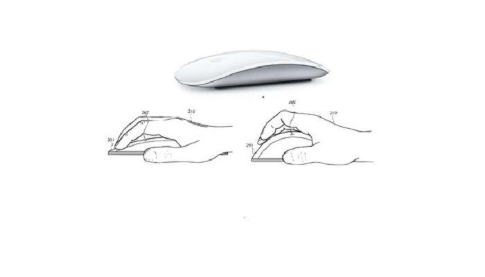 Ecco il nuovo Magic Mouse di Apple svelato da un brevetto