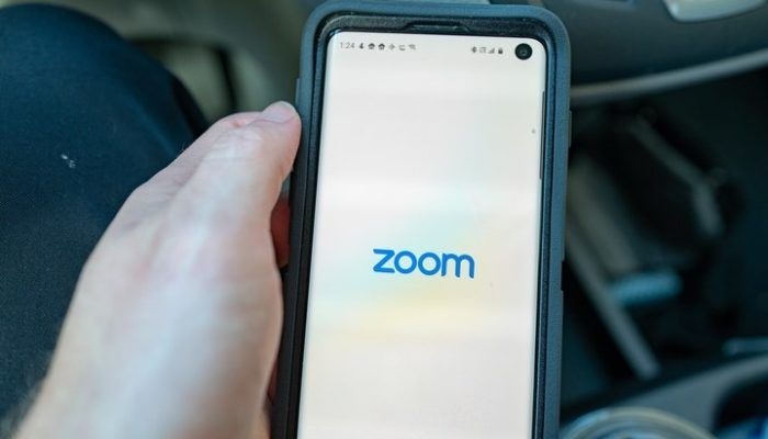 zoom false videochat