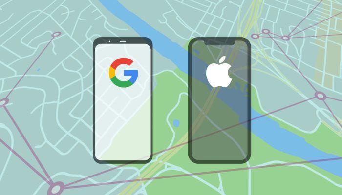 Notifiche di esposizione al COVID-19 android e iOS
