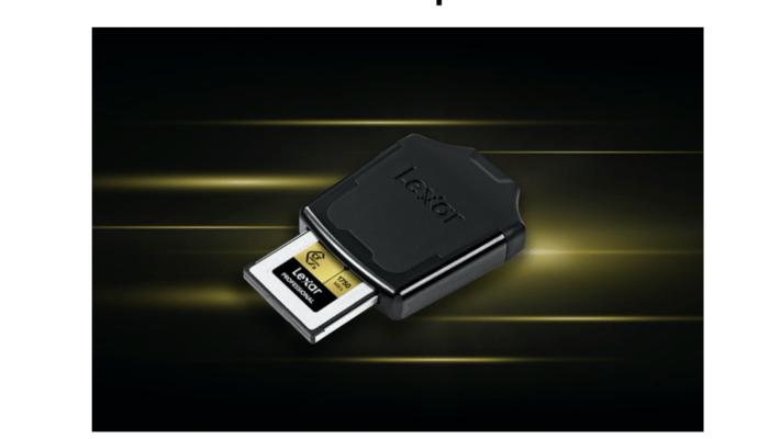 Lexar: ufficiale l'USB 3.1 CFexpress, il nuovo lettore professione