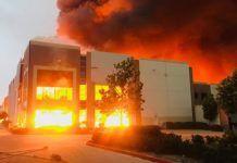 amazon-magazzino-incidente-fiamme