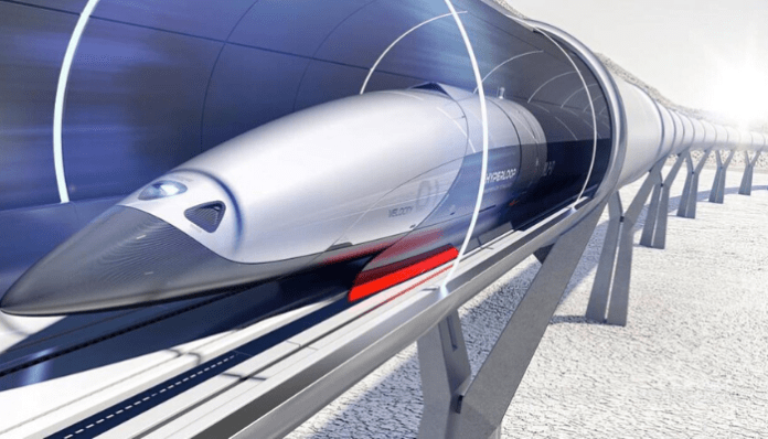treno Hyperloop