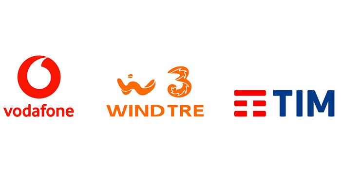 TIM, Vodafone, WindTre