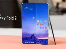 Samsung, Galaxy, Fold 2, smartphone pieghevole, foldable, render, S Pen