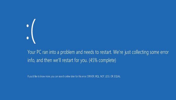 windows-10-laptop-risoluzione-4k-problema-crash-riavvio
