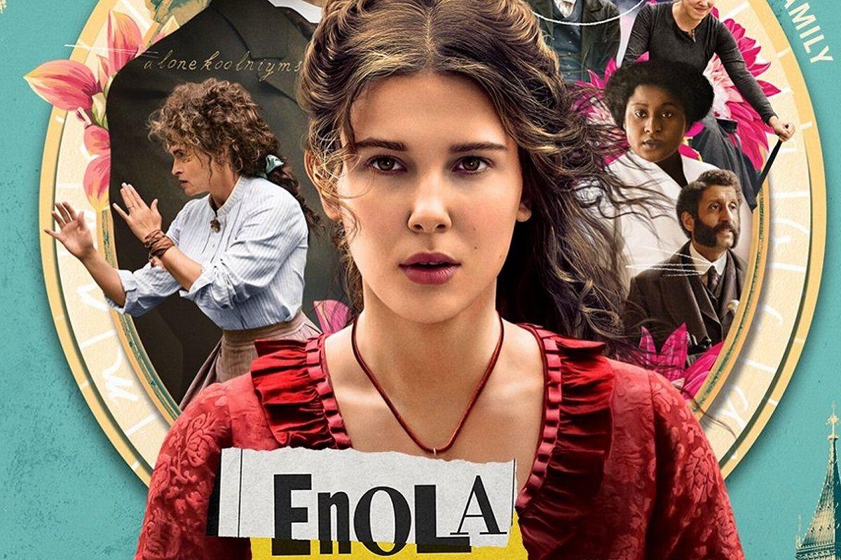 Enola Holmes, Sherlock Holmes, Netflix, Millie Bobby Brown, Henry Cavill