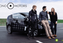 Sono Motors: arriva l'auto elettrica che si ricarica con i pannelli solari