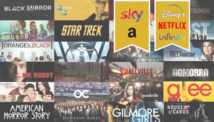 Serie TV: le più belle su Amazon, Sky, Infinity, Netflix e Disney+