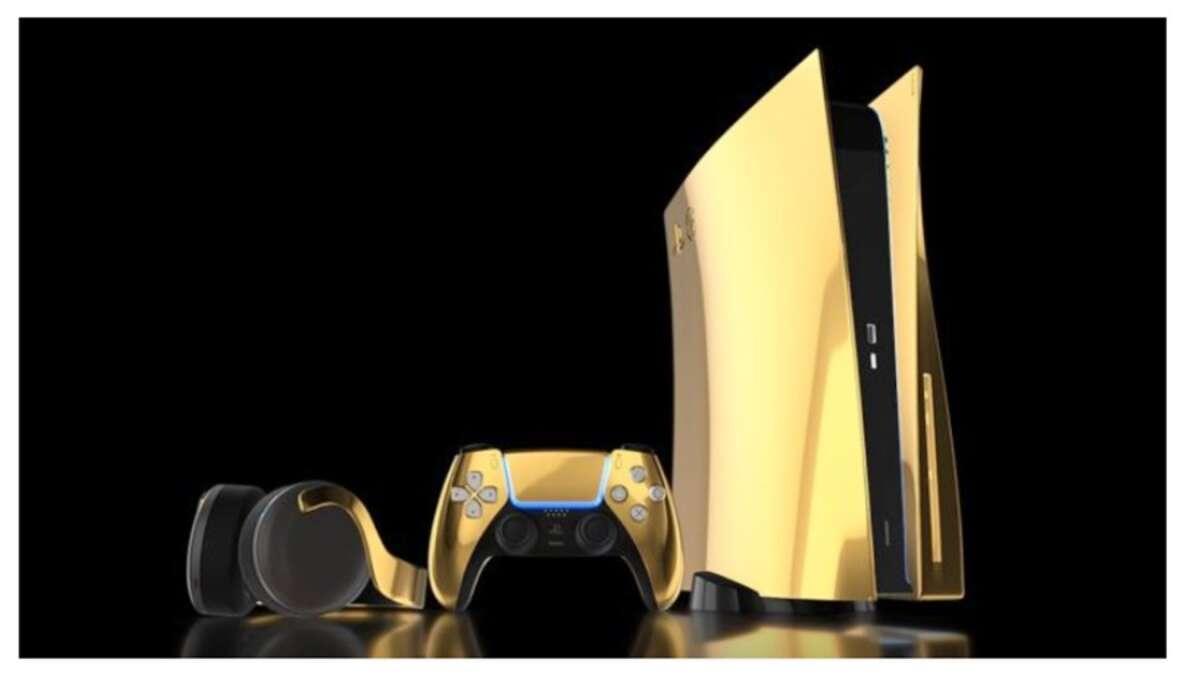 Sony, PlayStation 5, PS5, oro, Digital Edition, console war, Xbox Series X, Microsoft