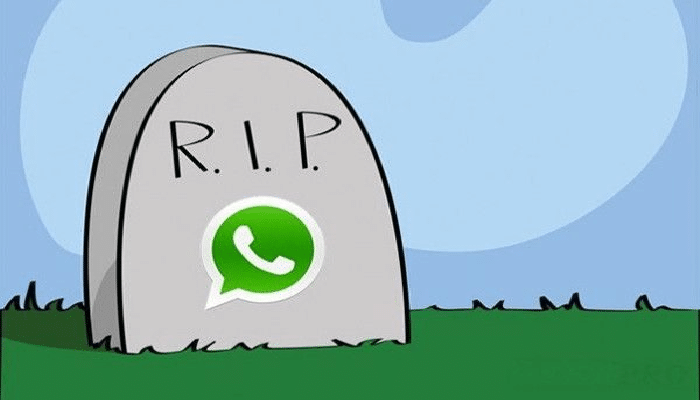 WhatsApp addio