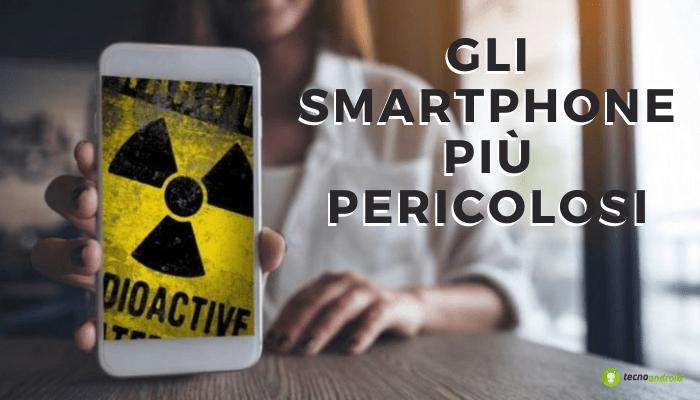 Smartphone: la lista dei modelli più dannosi per le loro radiazioni