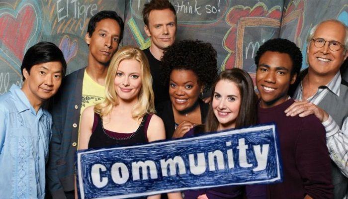 Community, six season and a movie, film, serie TV, Netflix