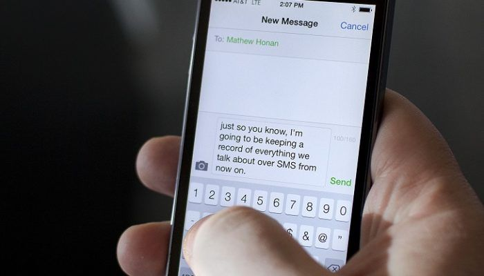 messaggi anonimi