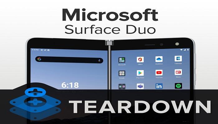 Microsoft, Surface Duo, Surface, Teardown, iFixit