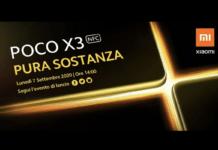 Poco X3 data debutto Italia teaser