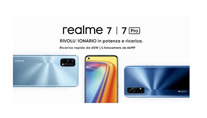 Realme 7 evento italia 7 ottobre