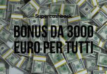 Supercashback: arriva il bonus da 3000 euro per chi userà il Bancomat
