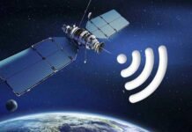 internet via satellite