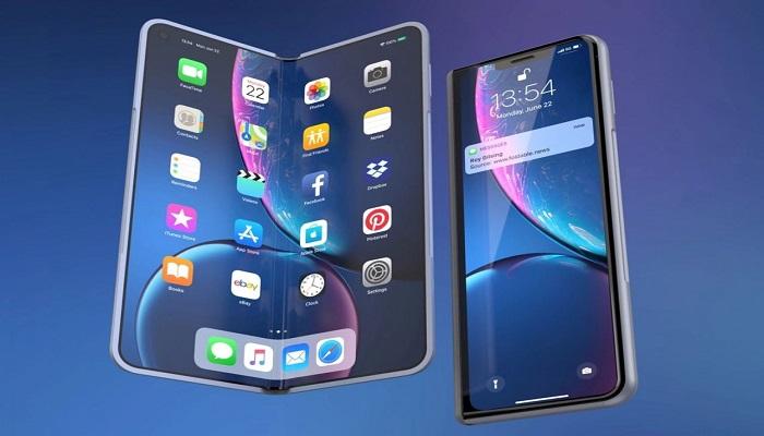 Apple, display, foldable, smartphone pieghevole, iphone