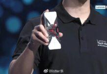 Lenovo Legion Phone Duel trasparente