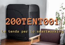 Smartworking: la tenda-scrivania che vi permetterà di lavorare a casa