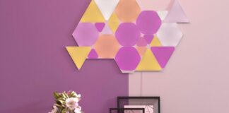 Nanoleaf, Shapes, Triangles, Mini Triangles, Hexagons