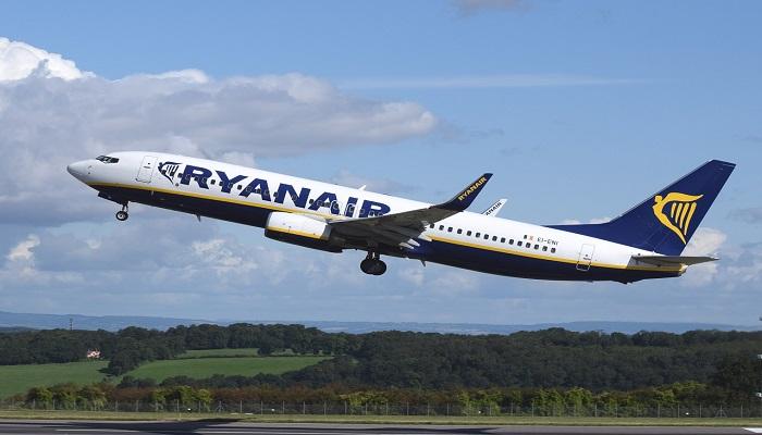 Ryanair voli ridotti in inverno