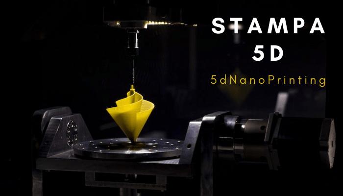 Stampa 5D: il nuovo metodo supera la già conosciuta stampa 3D