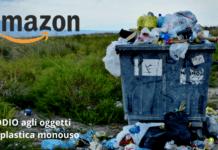 Amazon: la piattaforma dice stop agli oggetti in plastica monouso