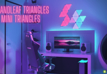 Nanoleaf Triangles e Mini Triangles: come funzionano le nuove luci smart