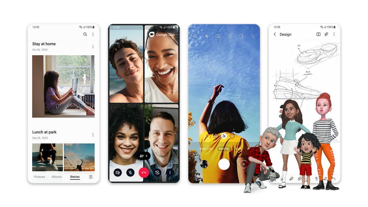 Samsung lancia ufficialmente One UI 3 con Android 11 su tanti Galaxy