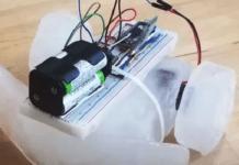 robot di ghiaccio