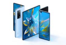 Huawei, Mate X2, smartphone pieghevole, foldable