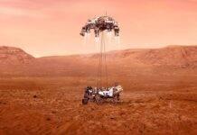 Perseverance, NASA, Rover, Marte, atterraggio,