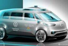 Volkswagen ID BUZZ guida autonoma