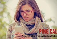 Ping Call: fate molta attenzione alla nuova frode che brucia il credito