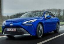 Toyota Mirai seconda generazione a idrogeno
