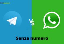 Whatsapp e Telegram: entrambe le app si possono usare senza numero