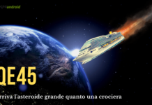 Asteroide: la nuova minaccia per la Terra ha le dimensioni di una nave da crociera