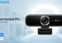 Anker, PowerConf C300, AnkerWork, webcam, zoom,