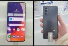 Samsung Galaxy A82 no flip camera immagini
