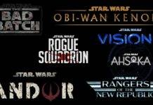 Star Wars, Disney+, Disney, serie TV, streaming,