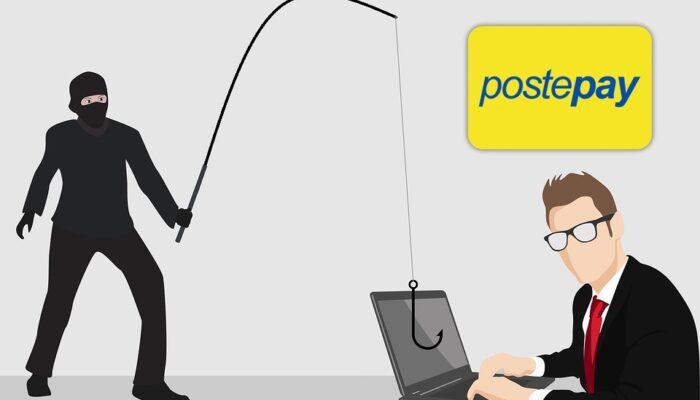 Postepay e i rischi che si corrono: gli utenti ricevono un messaggio phishing