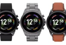 Fossil, Gen 6, smartwatch, Android, WearOS
