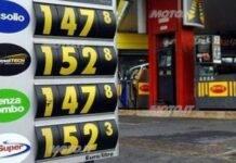aumento carburante