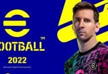 eFootball 2022, Konami, PES, calcio