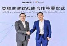 microsoft-honor-collaborazione-arrivo-primi-laptop-windows-11