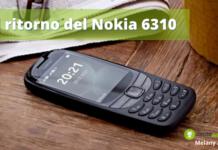 """Nokia 6310: colpo di scena per l'Italia, è tornato il vecchio """"mattone"""" a 59 euro"""